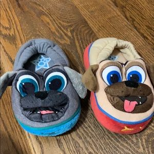 Toddler puppy dog  pals slippers